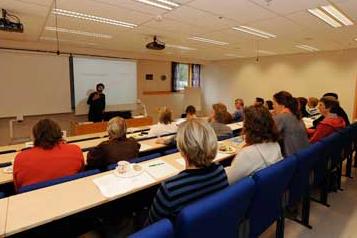 Auditoriet i Kompetansesenteret