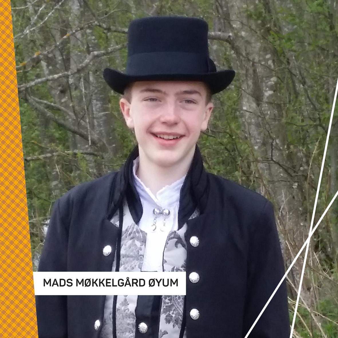 Mads Møkkelgård Øyum