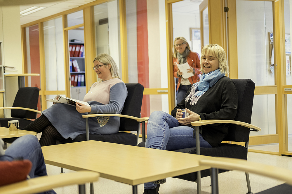 Kolleger hos Matilsynet i deres kontorlokaler i Kompetansesenteret